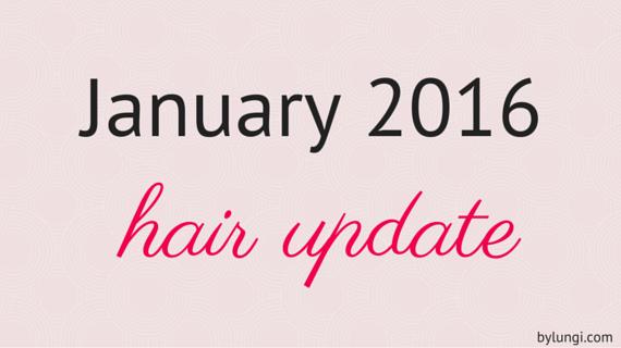 January 2016 hair update natural hair