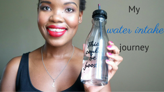 My water intake journey