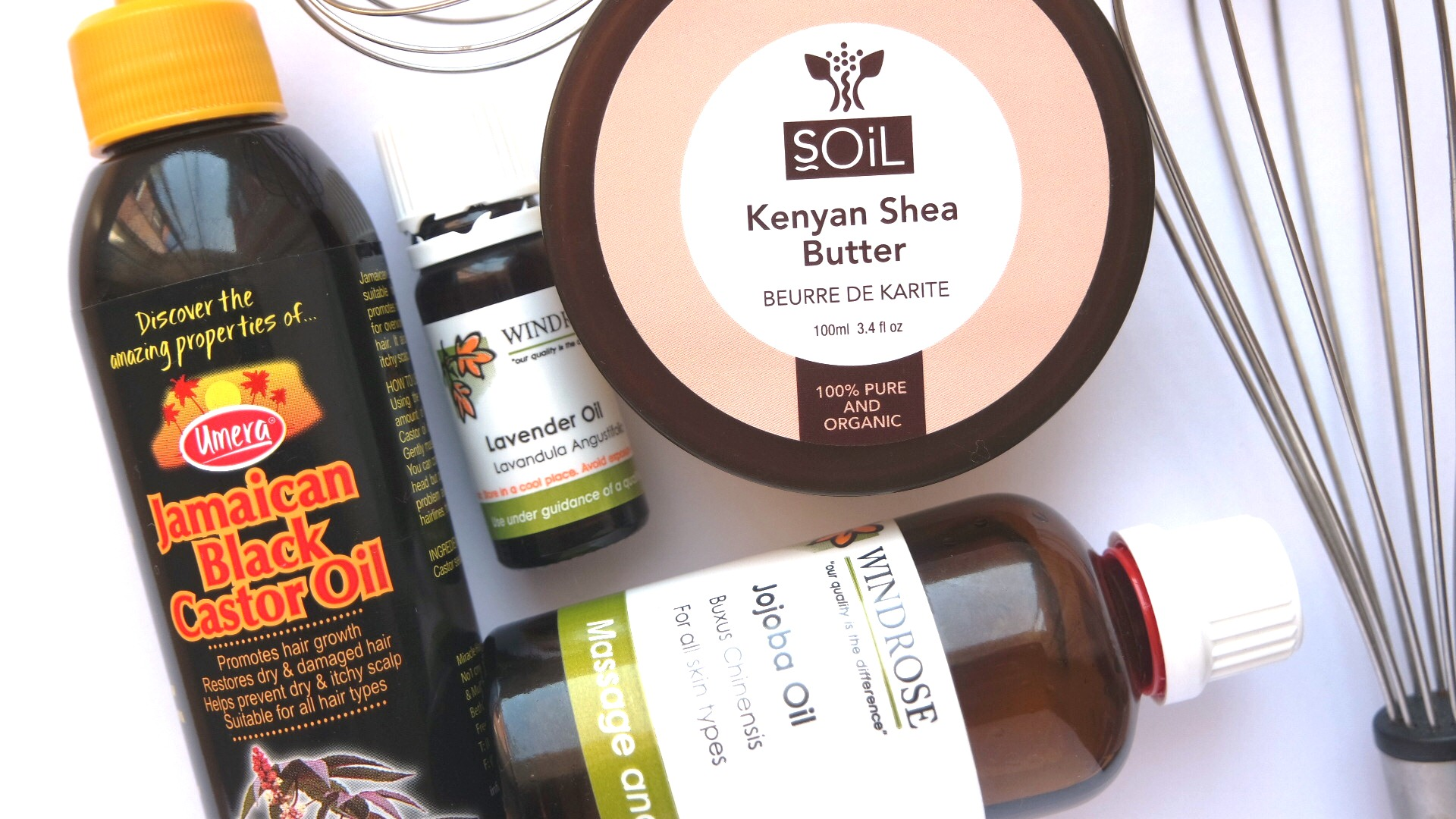 Whipped shea butter ingredients