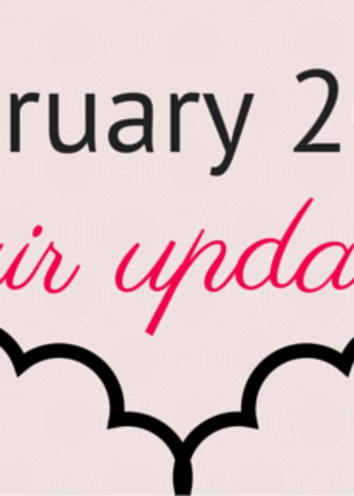 Hair update // February 2016