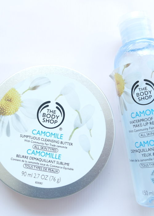 Demo & Review // The BodyShop Camomile Makeup Remover Range