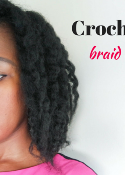crochet braids styling // braid out tutorial
