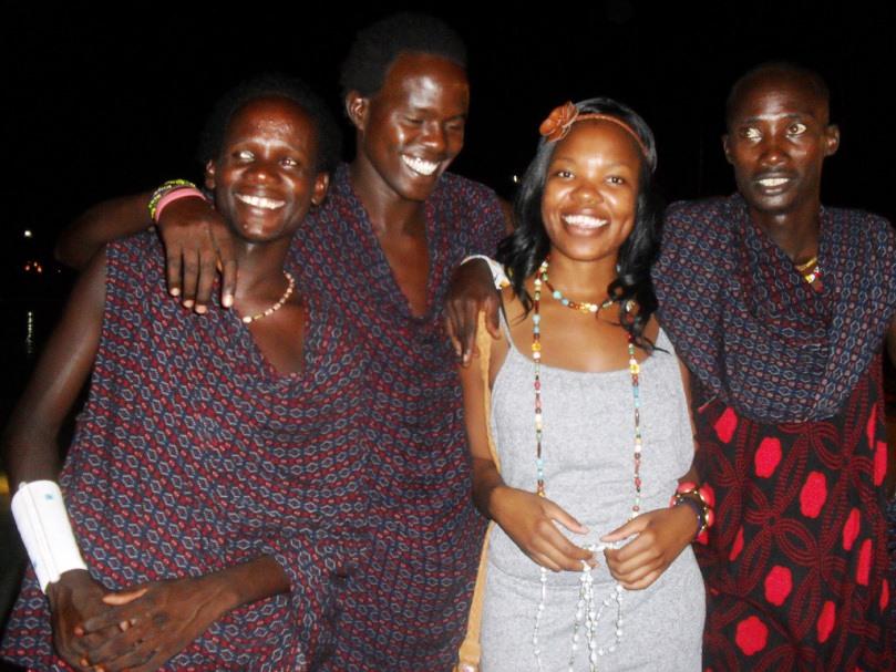 Maasia warriors