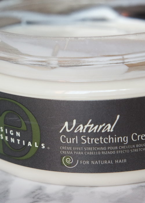 hair review // design essentials curl stretching cream