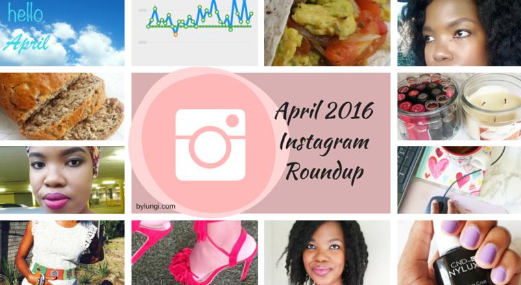 April 2016 Instagram Roundup