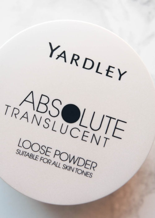 beauty review // yardley absolute translucent loose powder