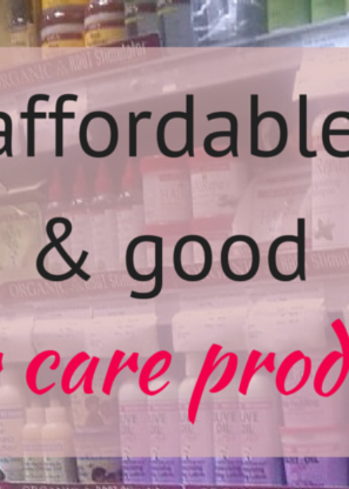 mzansi // affordable hair care products