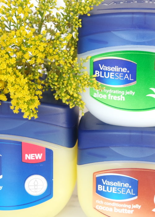 beauty // how I use Vaseline in my beauty regimen + GIVEAWAY!