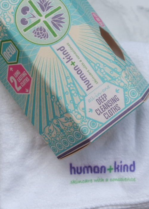 beauty review // Human + Kind Deep Cleansing Cloths