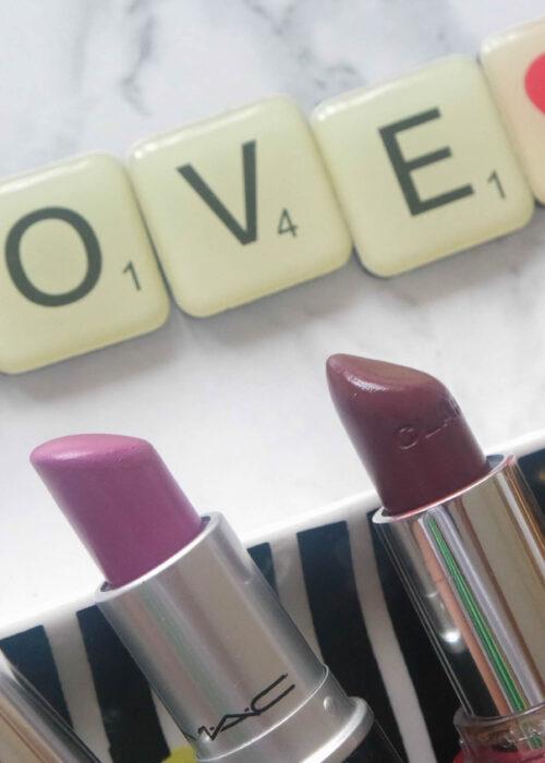 my purple lipsticks collection