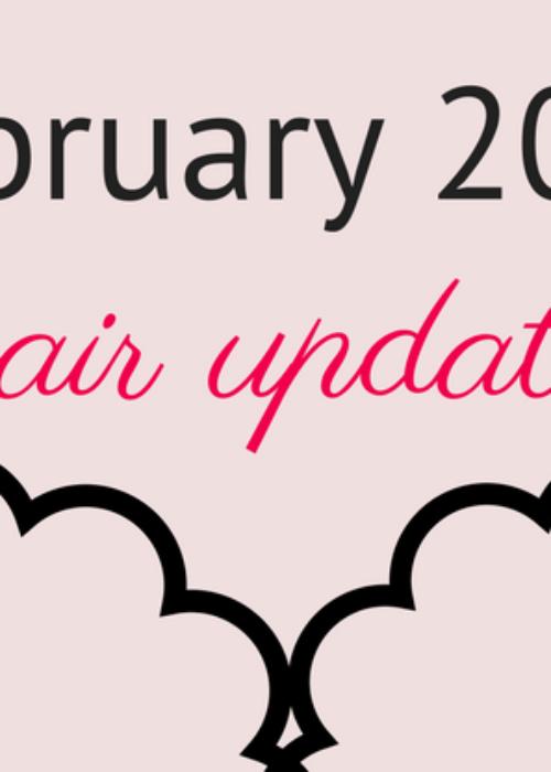 hair update // february 2017