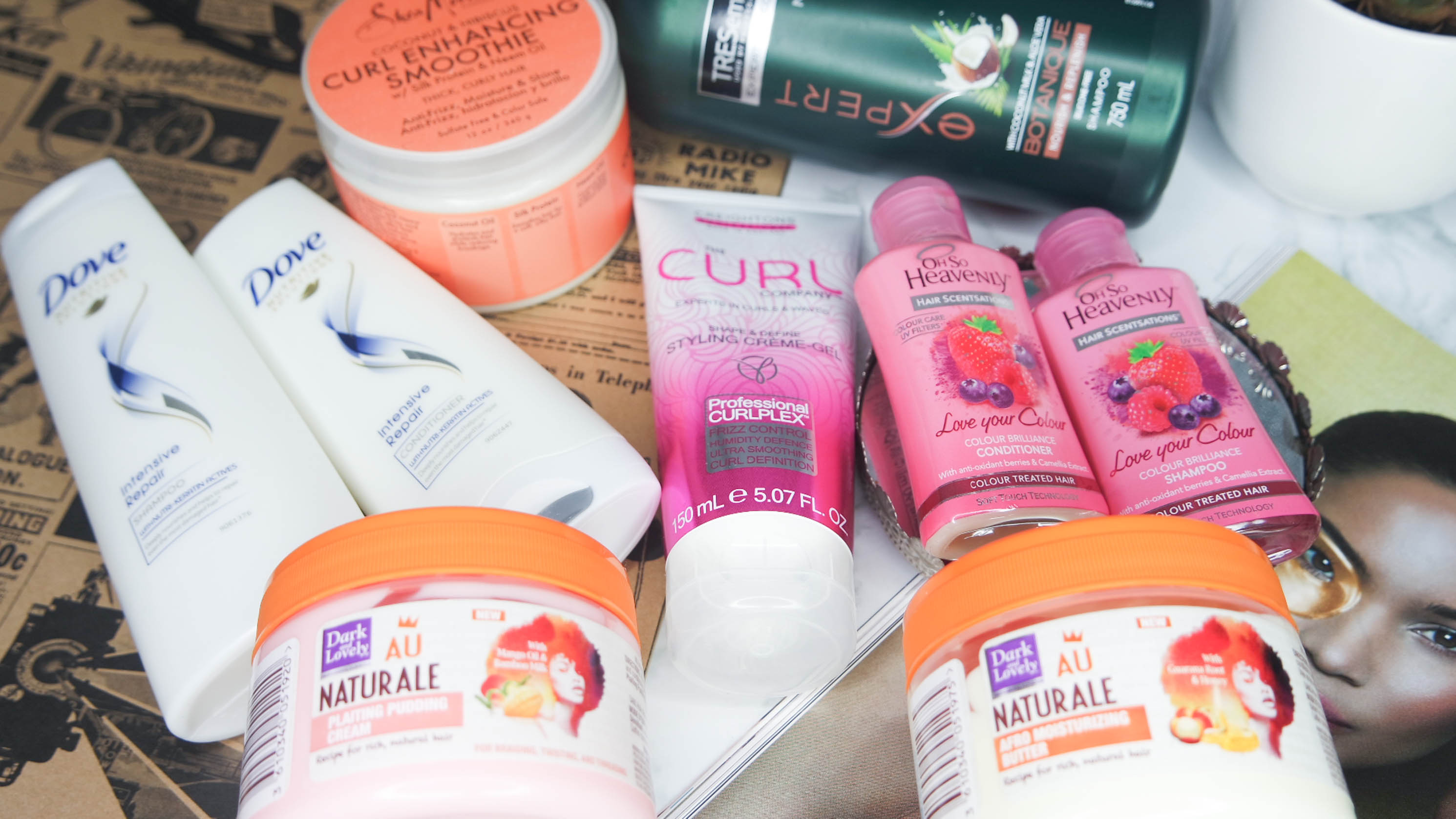hair products for 4c hair south africa