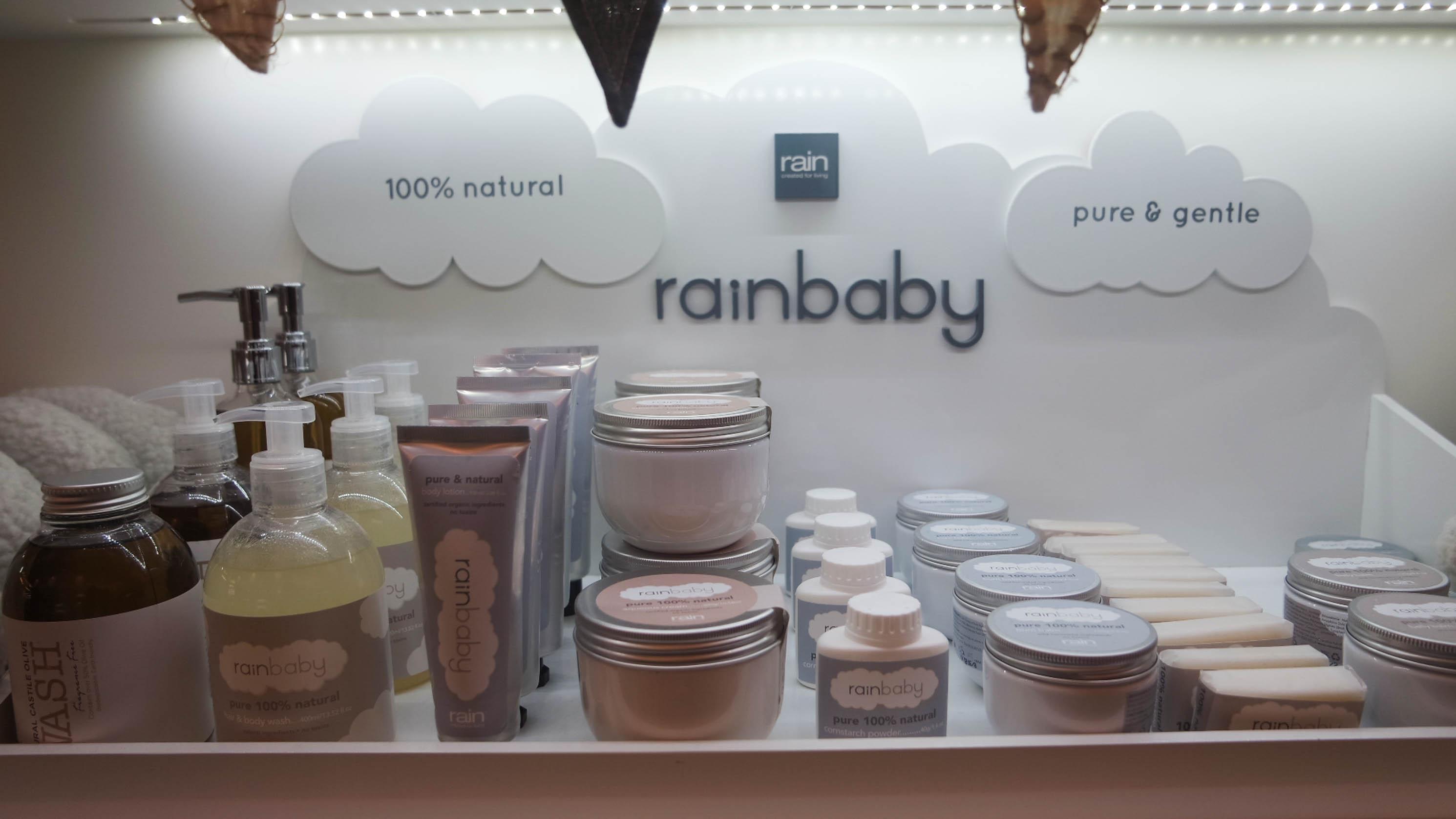 Rain baby products
