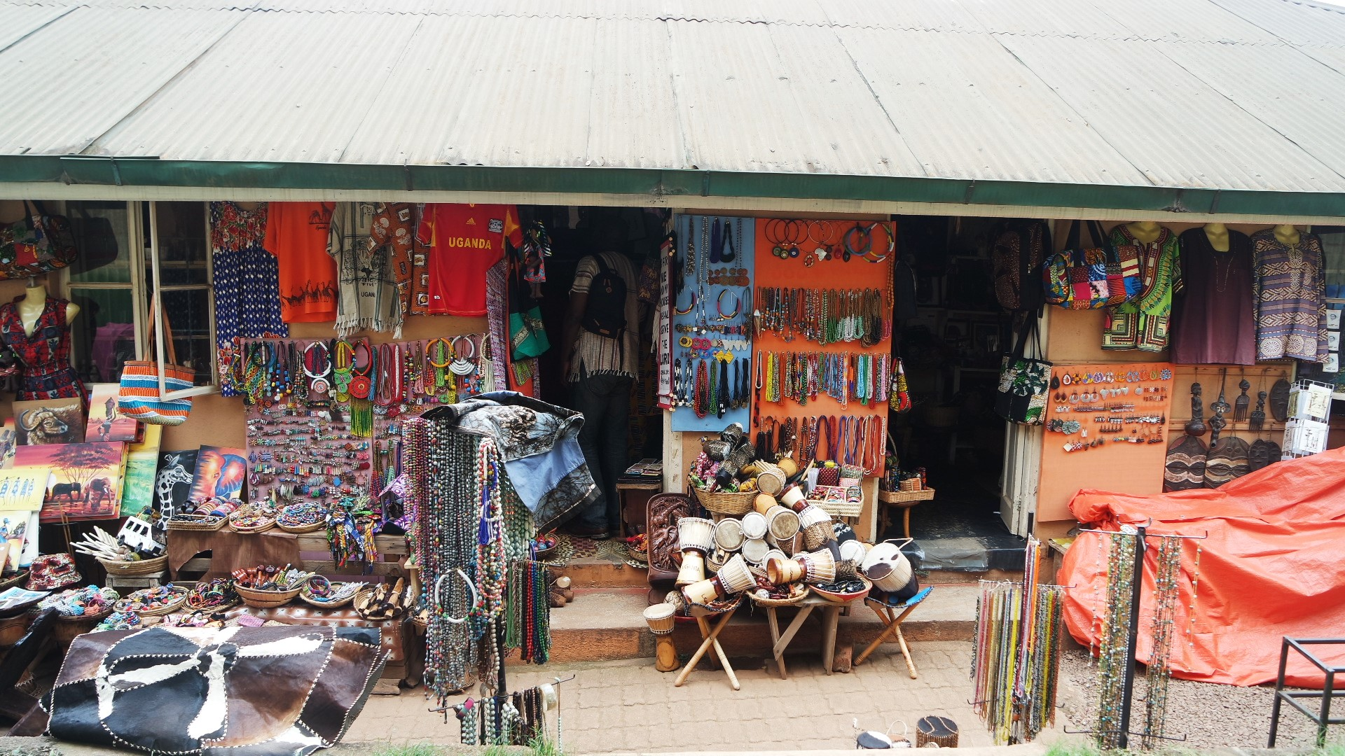 african market buganda road kampala