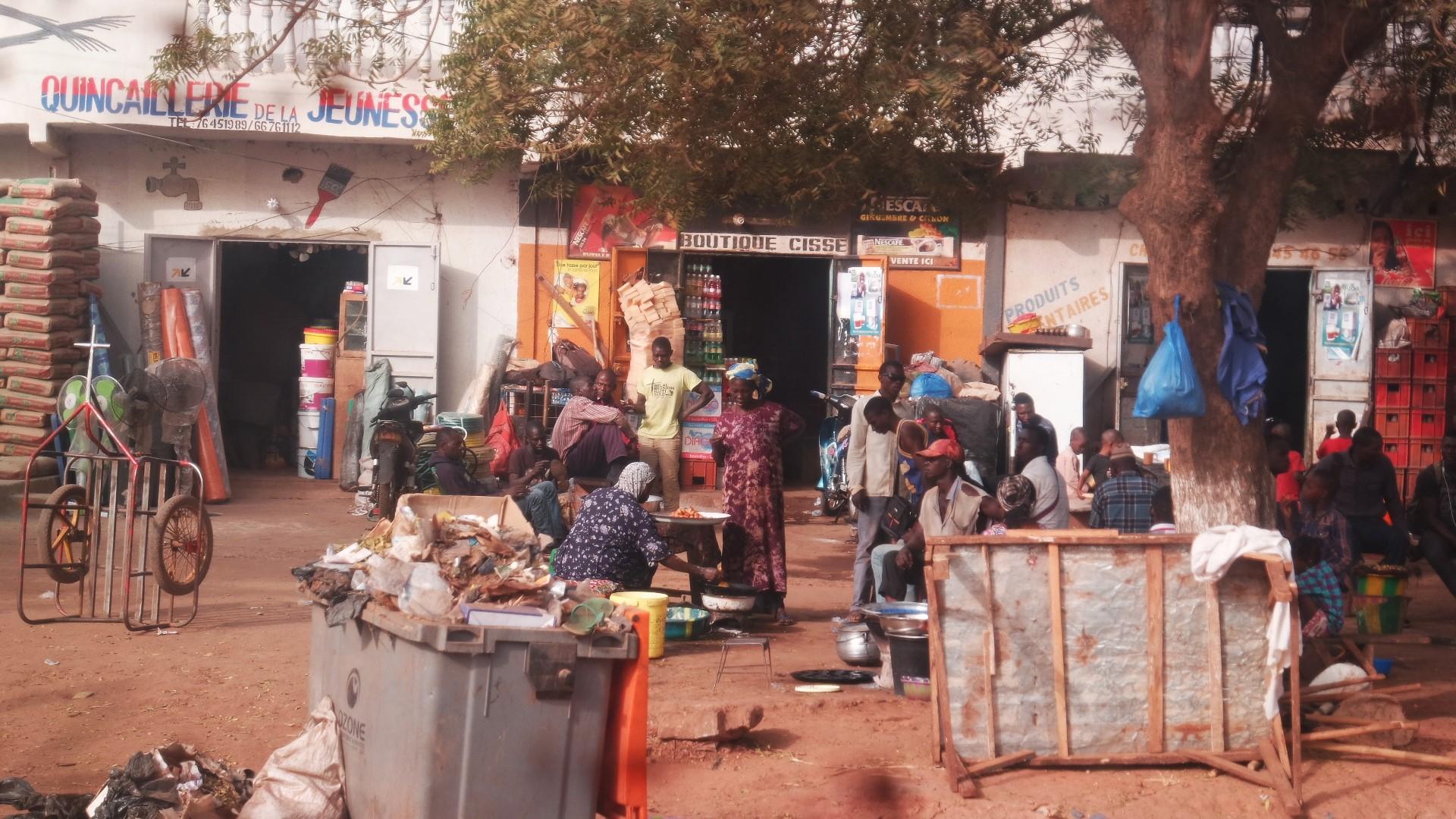 Bamako market