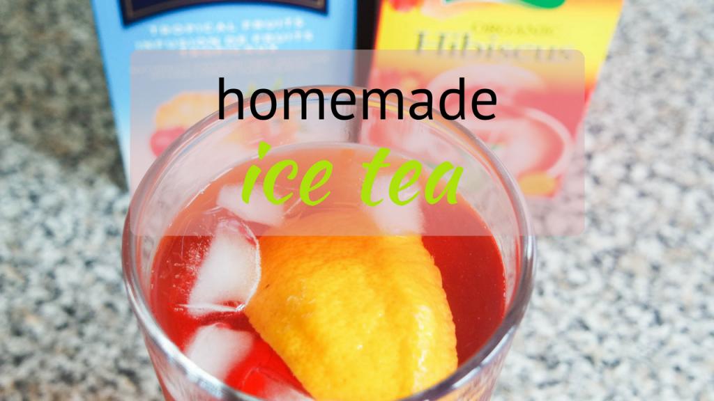 Homemade Ice tea recipe