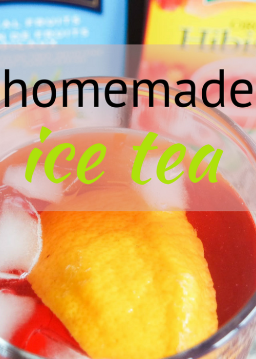 homemade ice tea recipe