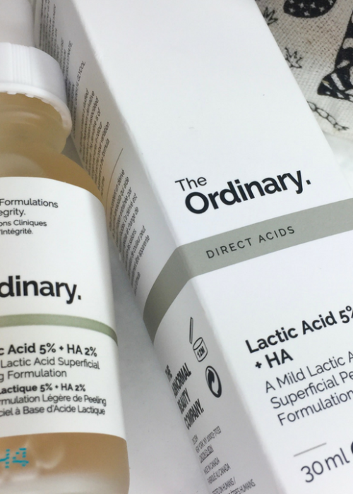 new in // the ordinary lactic acid