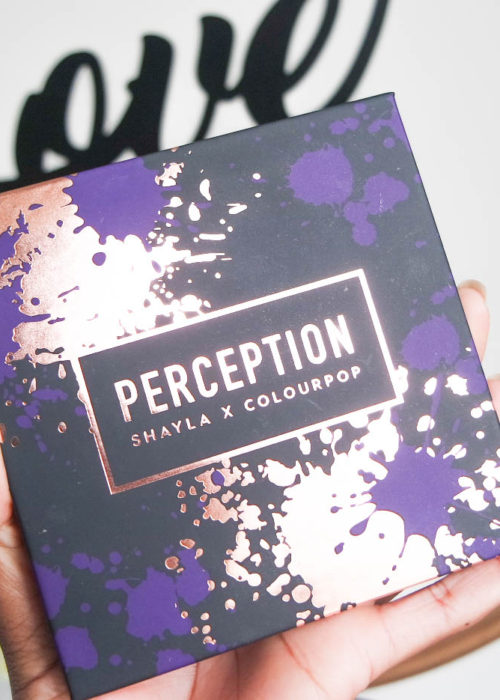 swatches // Shayla x Colourpop Perception eyeshadow palette
