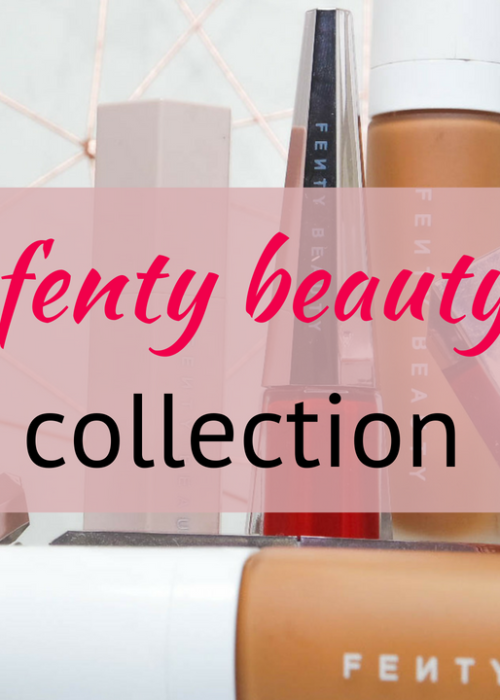 my fenty beauty makeup collection