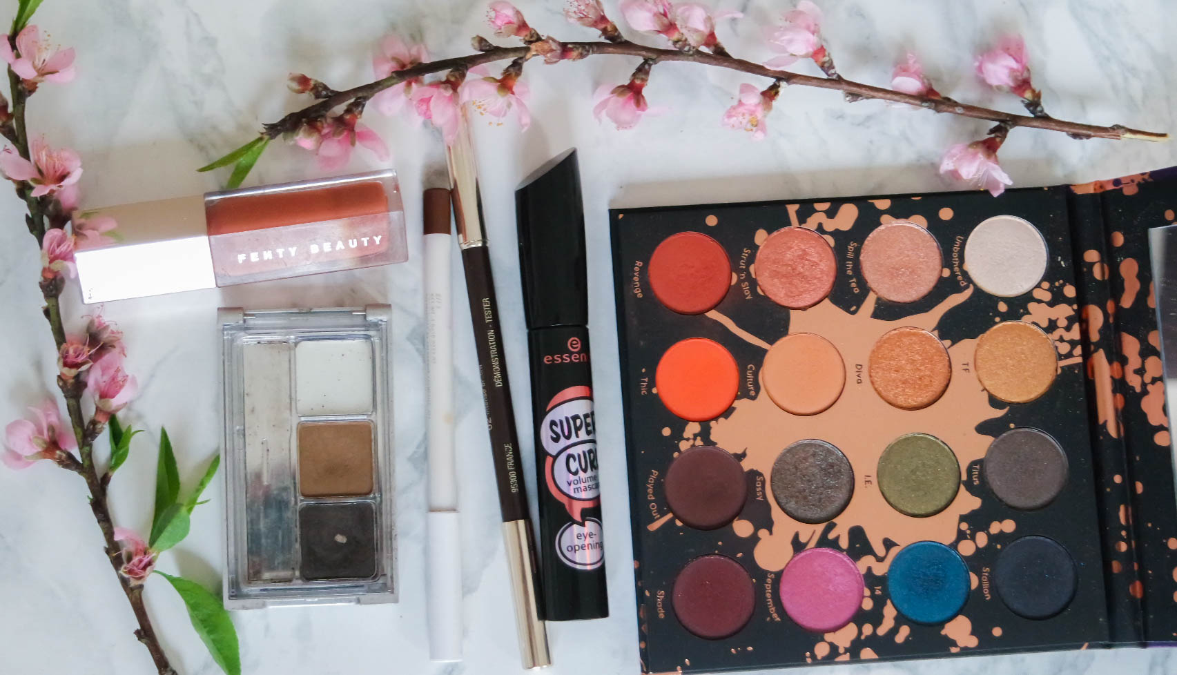 current makeup favourites