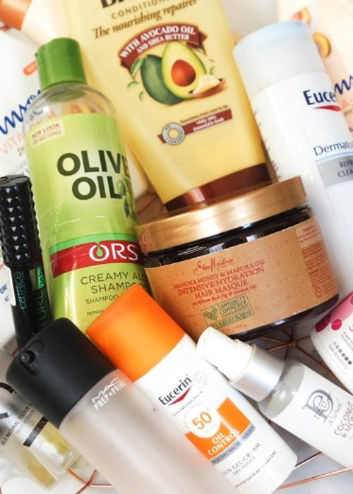 collective empties…products I've used up