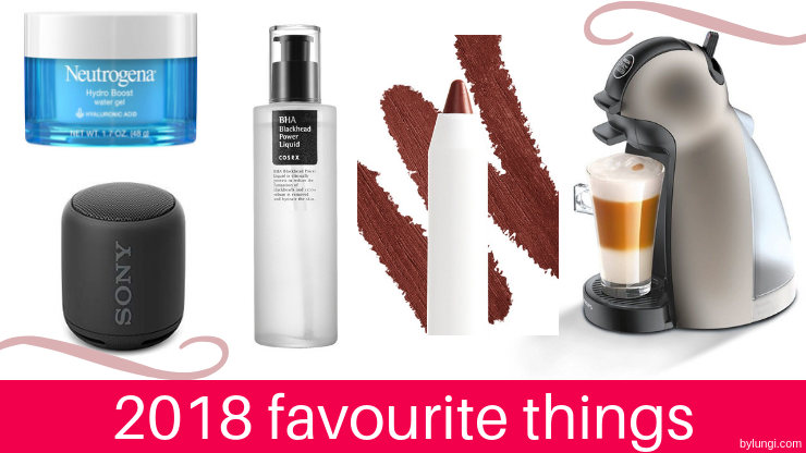 2018 favourite things