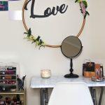 2019 vanity decor revamp