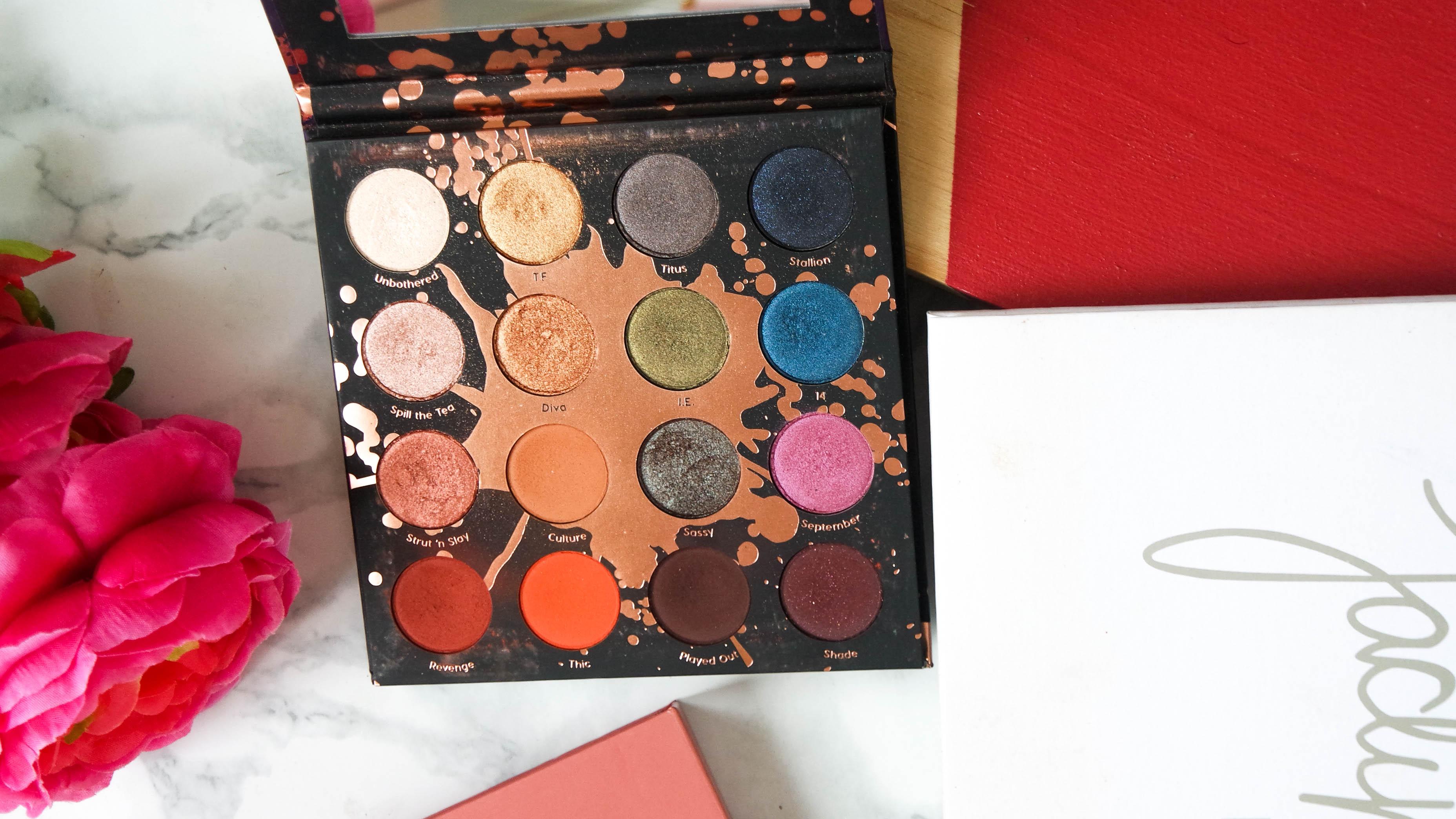 Shayla x Colourpop Perception palette