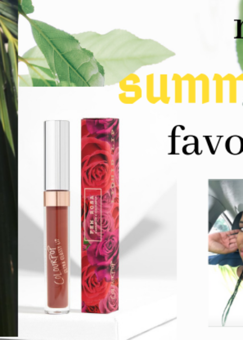 my 5 fave summertime products