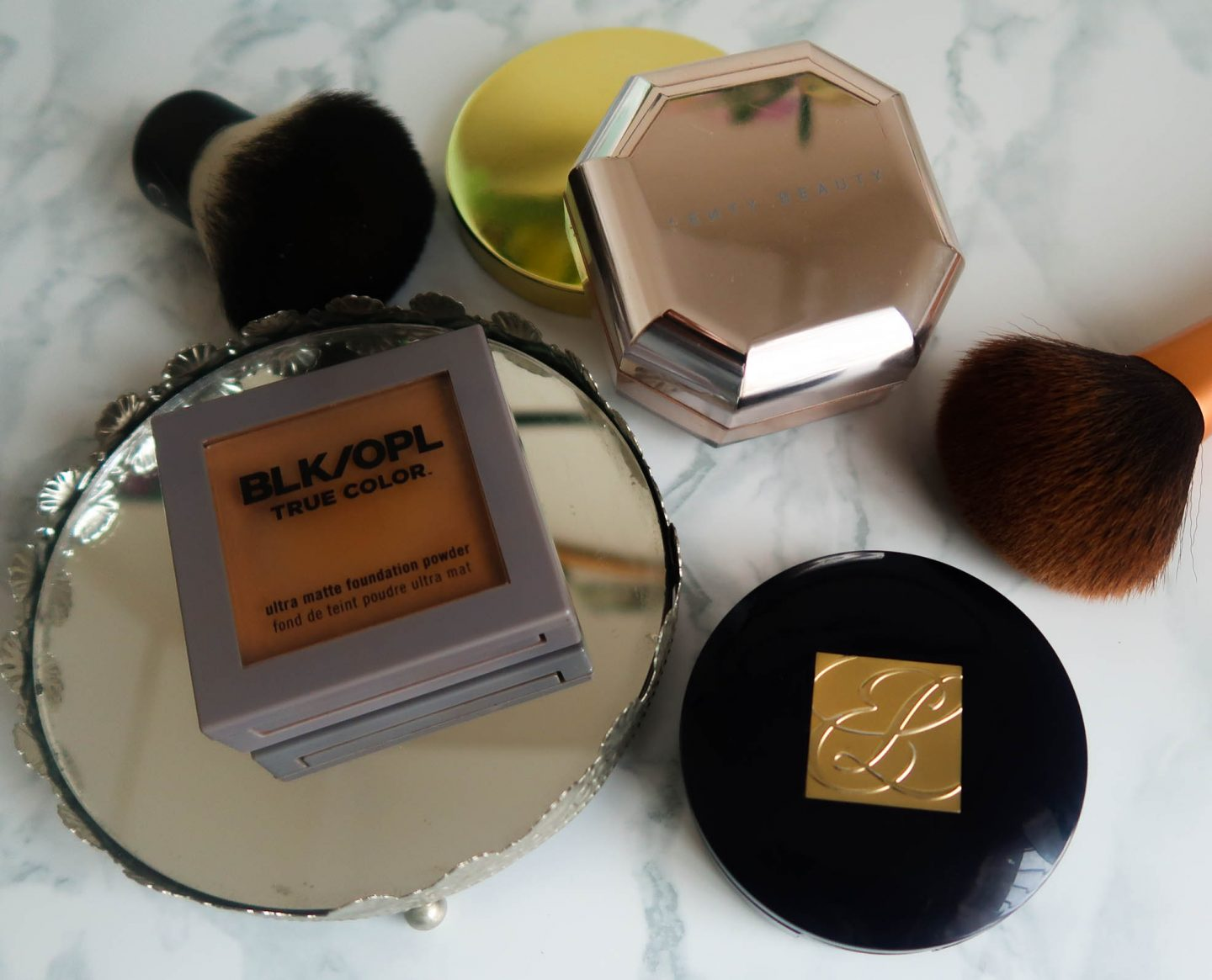 setting powders for african women