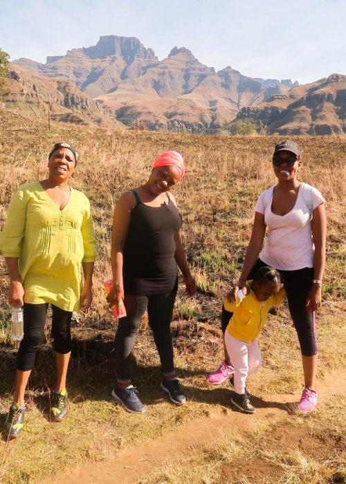 a long weekend in the drakensberg