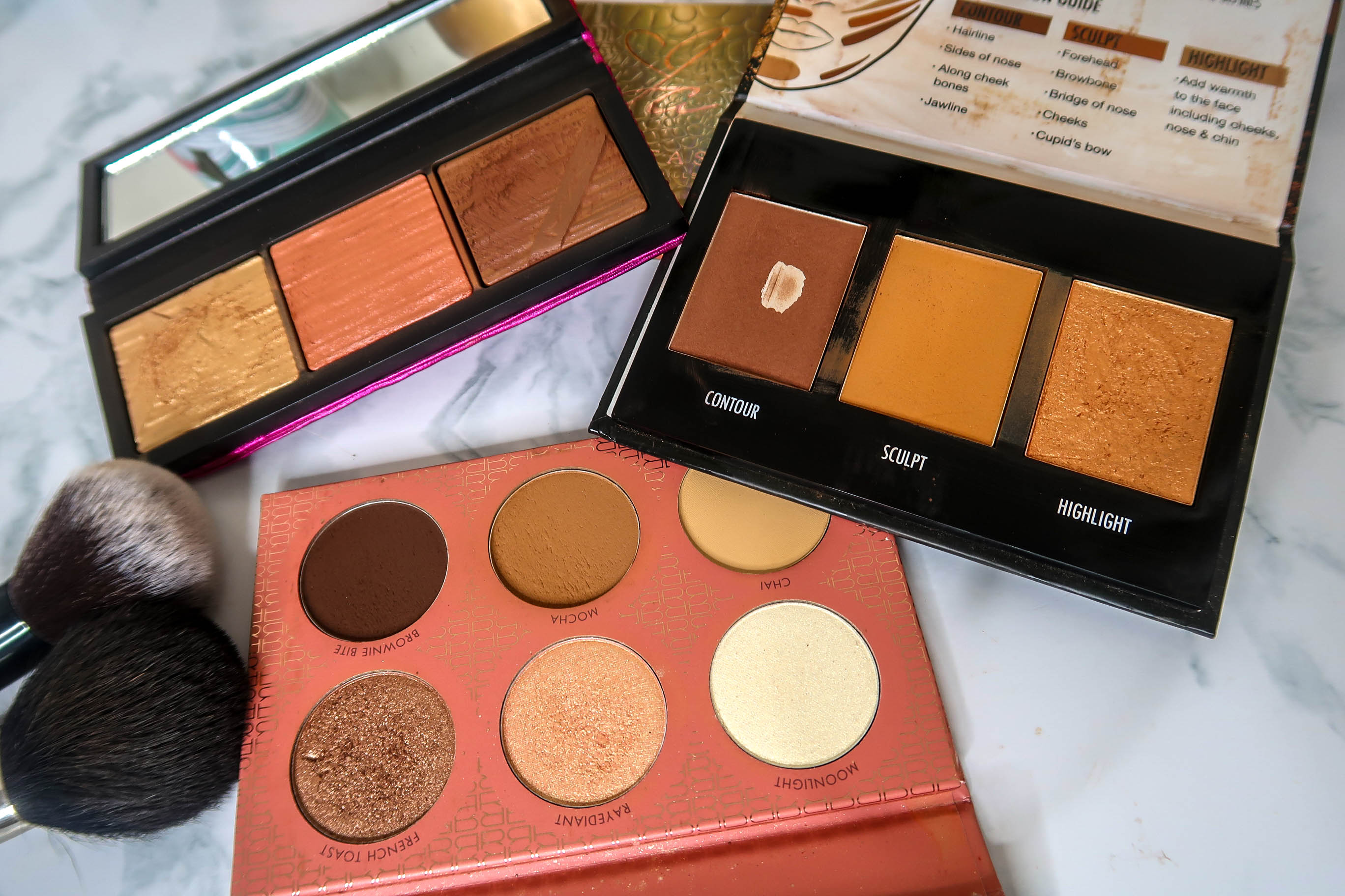 Contour and bronzers for black women