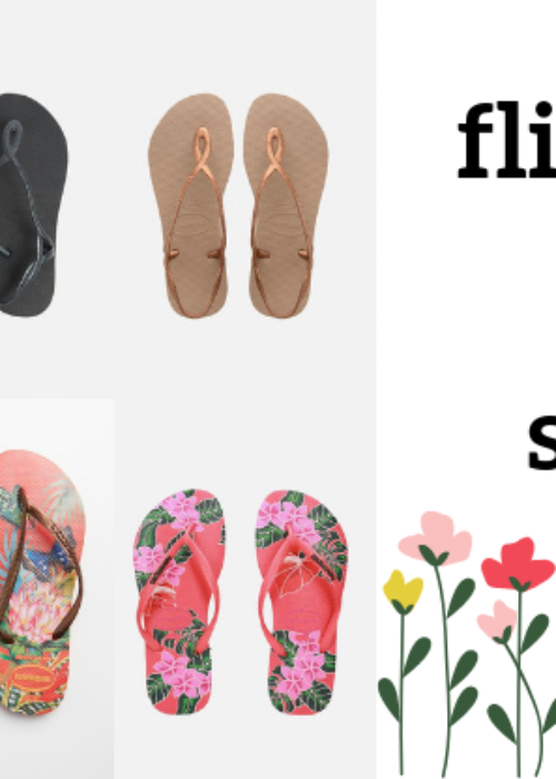 the perfect flip flops for spring