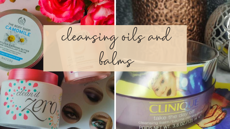 Cleansing oils and balms