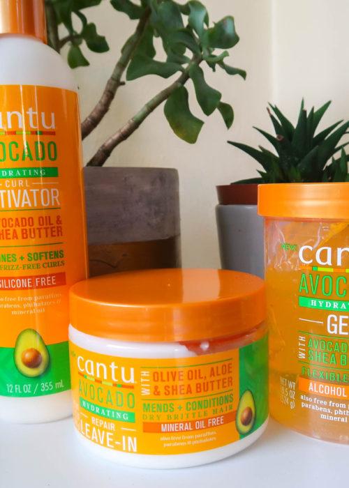 Introducing the Cantu Avocado Hydrating range