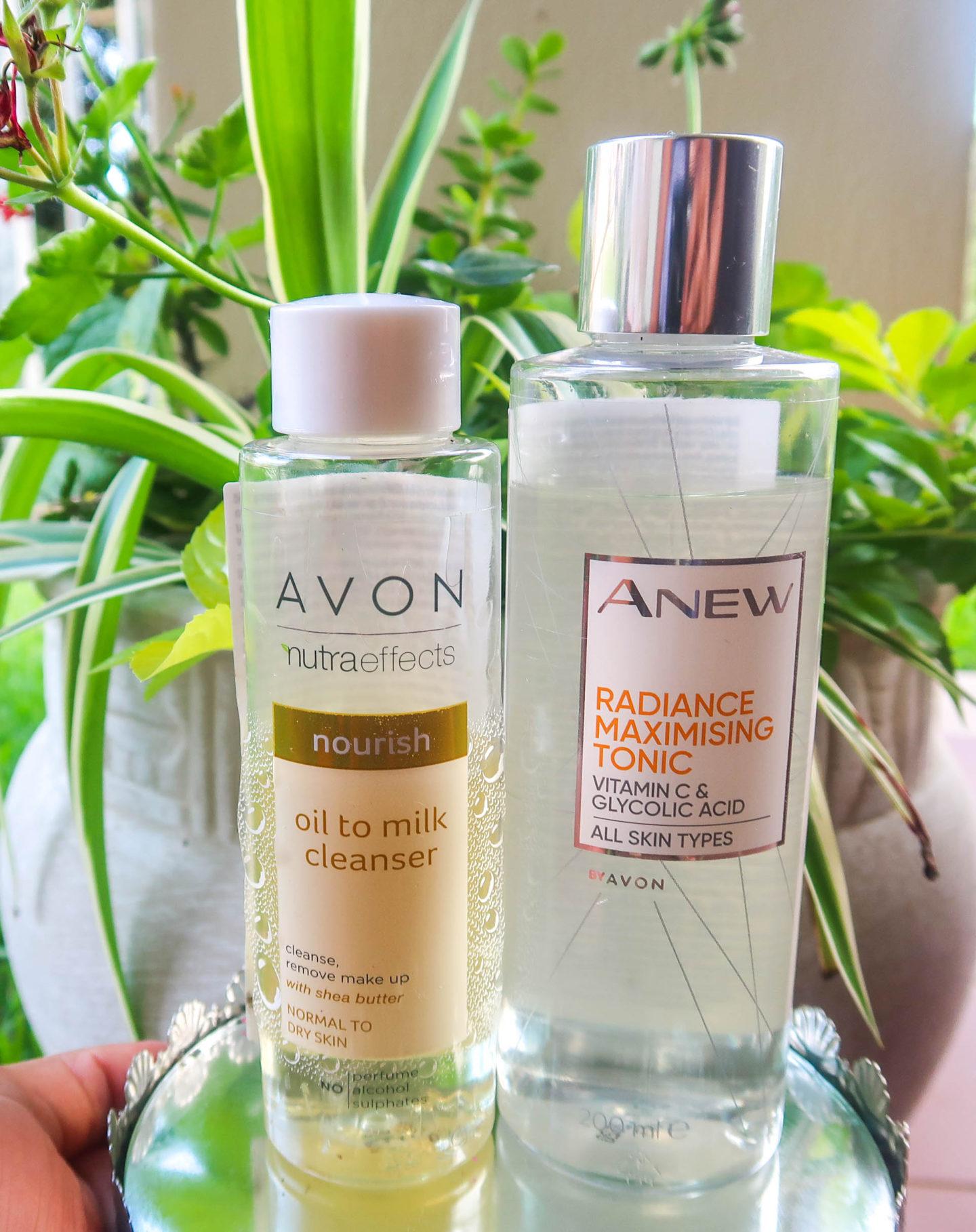 Avon skincare products