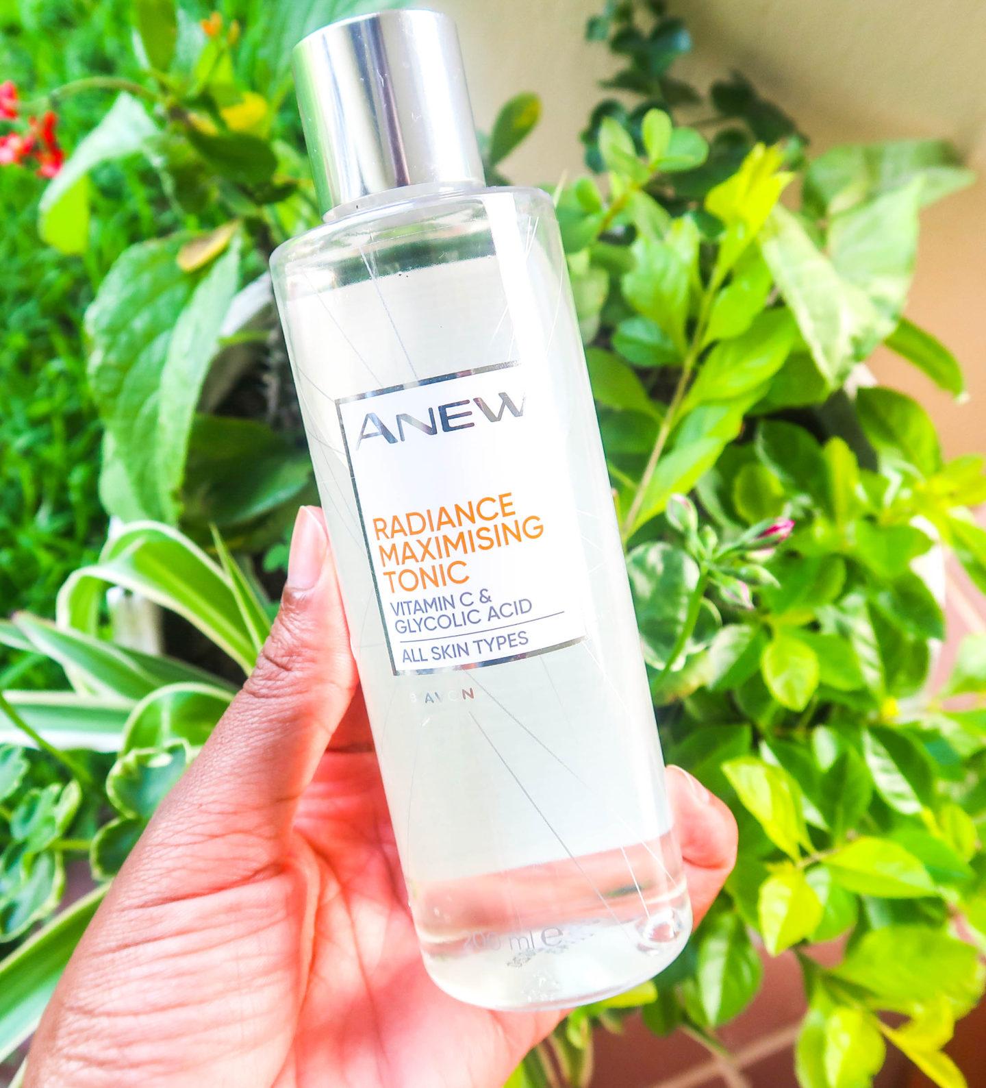 Avon Anew Radiance Maximising Tonic with Vitamin C & Glycolic Acid