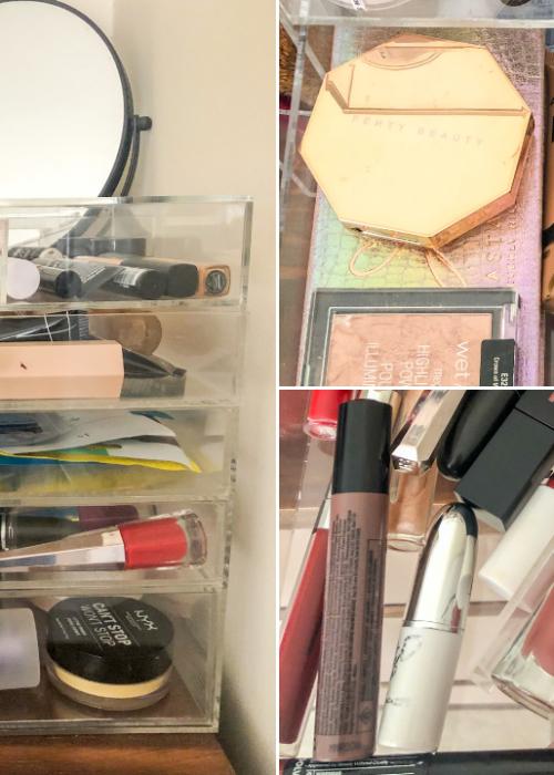 my minimal makeup collection