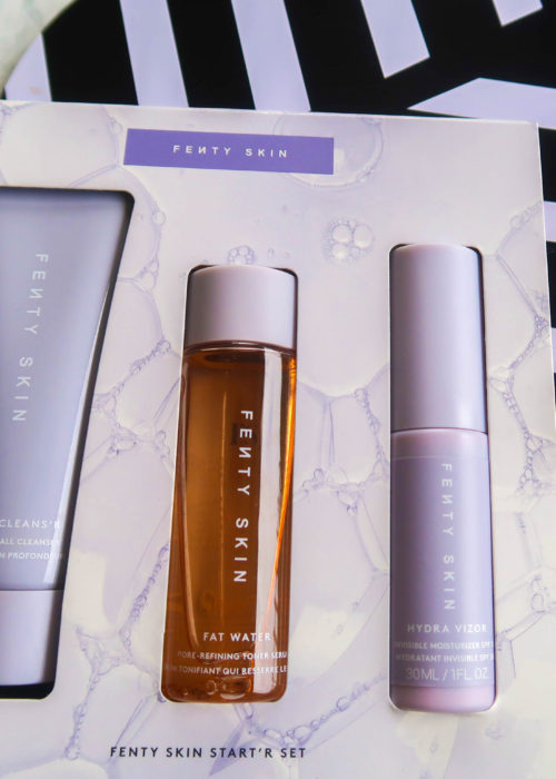 First impressions…I tried 3 products from fenty skin
