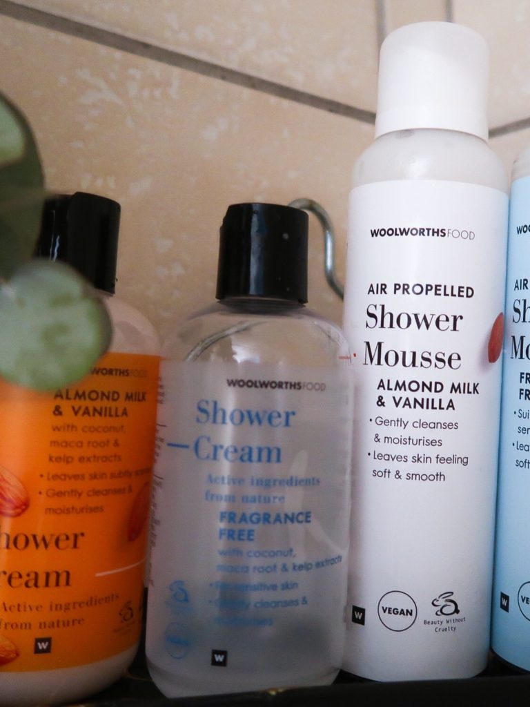 Favourite shower products