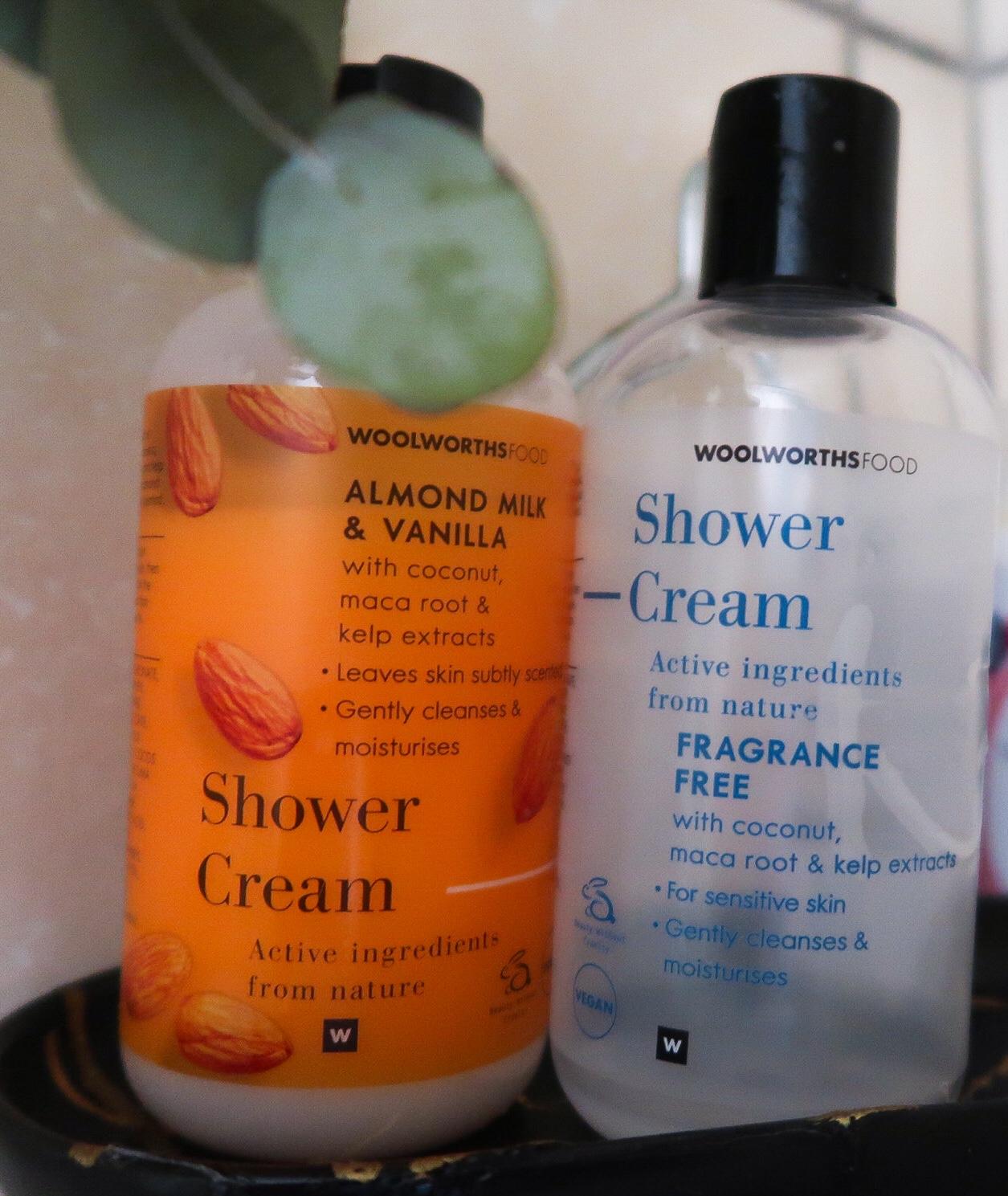 Woolworths Shower Cream
