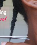 Trimming 4c natural hair